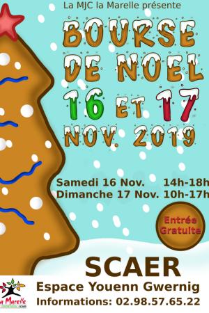 16 et 17 novembre 2019 Bourse de Noël Scaër
